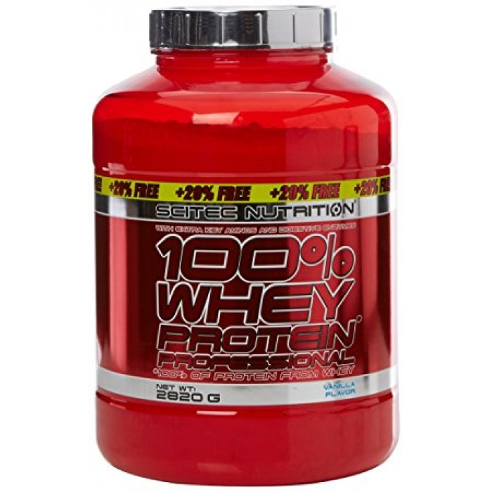 100% Whey Protein Professional+20% FREE (2.8 кг)